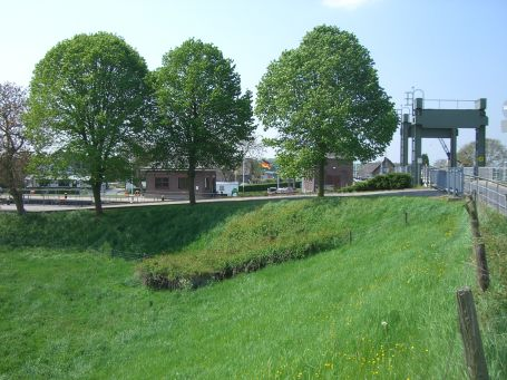 Kleve : Ortsteil Brienen-Wardhausen, Schleuse am Spoykanal
